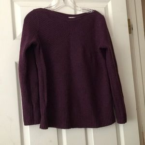 Madewell Purple Wool Sweater